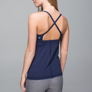 Lululemon Yeah Yoga Tank In Deep Navy